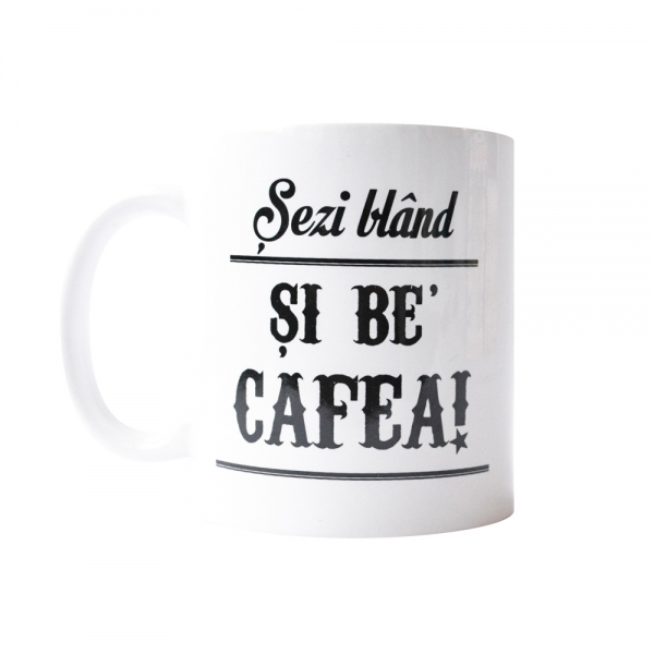 Cana Sezi Bland Si Be' Cafea! 250 ml